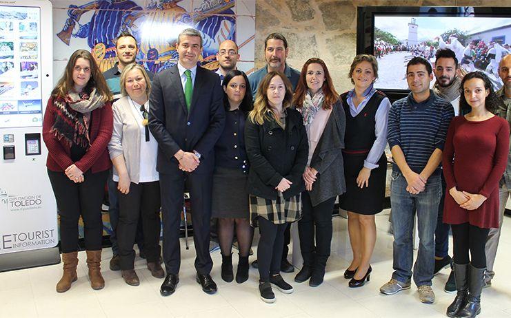 Más de 32.000 visitantes y casi 9.000 consultas registradas en abril en las oficinas turísticas de la Diputación de Toledo