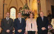 Llanos Navarro asiste a la misa oficiada en la Catedral de Albacete en honor a la Virgen de Los Llanos