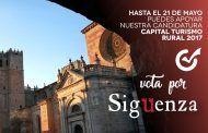 ¡Todos con Sigüenza! últimos días para votar por el municipio como Capital del Turismo Rural 2017