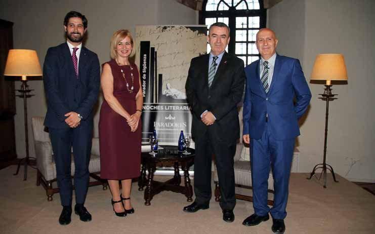 III Velada Literaria en Sigüenza, en esta ocasión con Lorenzo Silva