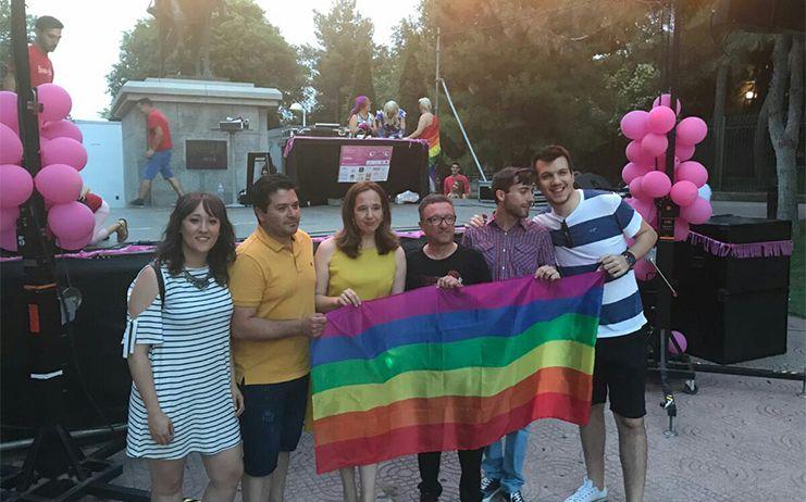 """PSOE CR y JSPCR, en la II Semana del Orgullo LGTBI+ para reivindicar """"el compromiso con el colectivo"""""""