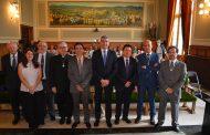 Ayto Toledo asiste a la lectura del discurso de ingreso como académico de Enrique García
