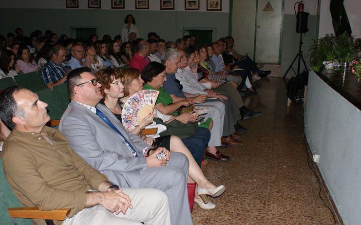 Mª Ángeles Martínez asiste al acto de celebración del 50 aniversario del Instituto de Educación Secundaria Tomás Navarro Tomás de Albacete