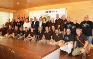 Mª Ángeles Martínez da la bienvenida a Albacete a las corales de Santander y Murcia que participan en el I Festival del Bolero