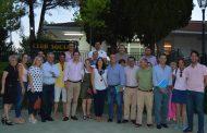 El secretario General del PP de Toledo, Emilio Bravo, visita Carranque