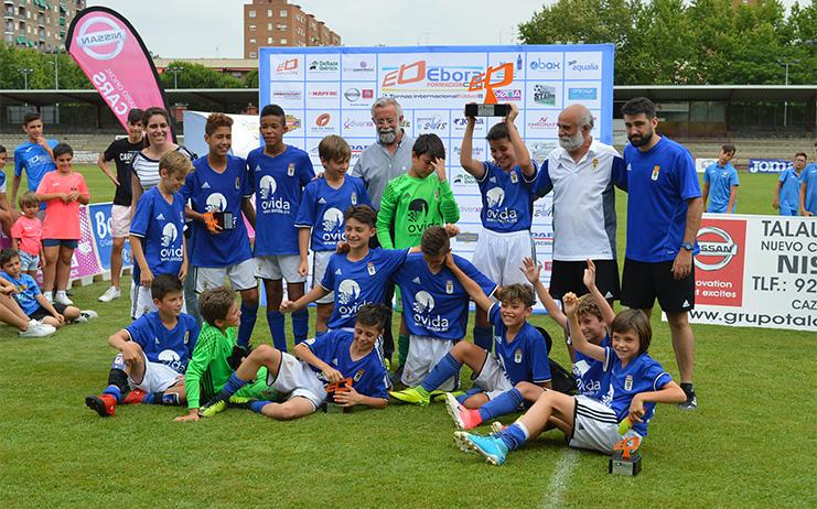 Ramos asiste a la entrega de los premios Ebora Formación Cup en Talavera