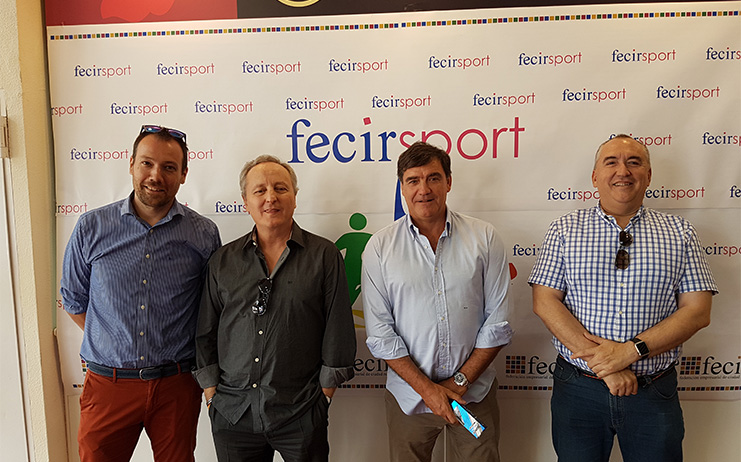 El ex jugador de fútbol, Marcos Alonso, en Fecirsport