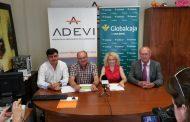 GLOBALCAJA firma con ADEVI un convenio de colaboración, en apoyo de los empresarios de Villarrobledo