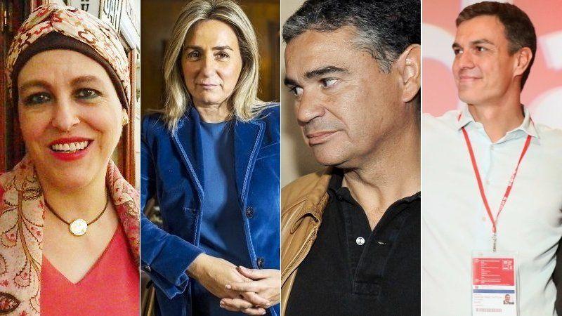 Manuel González Ramos, Milagros Tolón y Magdalena Valerio, socialistas de C-LM en la nueva Ejecutiva de Pedro Sánchez