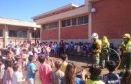 Un colegio público de Malagón celebra el fin de curso con actividades de educación ambiental para proteger el medio natural del fuego
