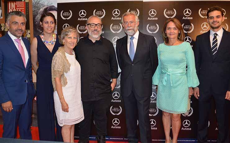 La Corporación de Talavera asiste a la ceremonia de clausura y entrega de galardones de los premios Pávez