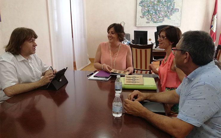 Patricia Franco mantuvo un encuentro con la alcaldesa de Miguelturra, Victoria Sobrino