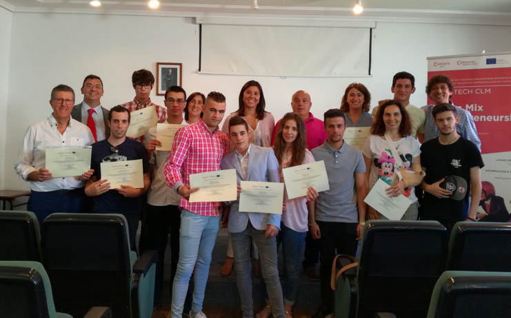 "Finaliza en Sonseca el programa de autoempleo ""TeamMixEntrepreneurship"""