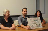"""Pasito a pasito"" consigue 1.442 euros de la Feria del Libro Solidario de Tomelloso"