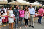 María Gil y Julián Garijo participan en la I Concentración de Cortadores de Jamón de Acepain