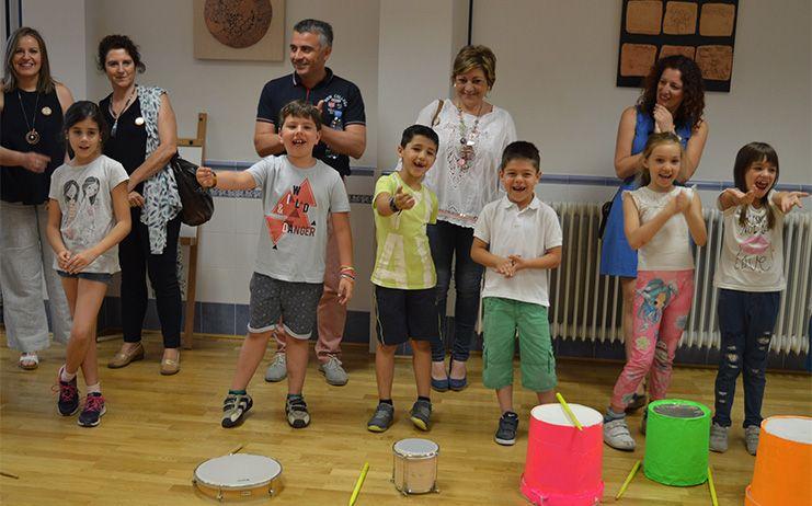 Vilches y Muelas participan en la IX Jornada MUS-E del CEIP San Ildefonso