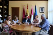 Manuel Serrano destaca la colaboración entre el Ayuntamiento de Albacete y CCOO para conseguir la paz social en el Consistorio