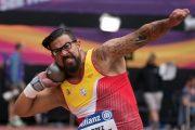Bronce para Kim López en lanzamiento de peso en el mundial de Londres 2017