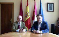 Manuel Serrano y Vicente Rouco ahondan en la colaboración entre instituciones para mejorar el entorno de la Ciudad de la Justicia  de Albacete