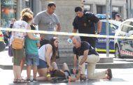 Barcelona. Cerrado El Corte Inglés de La Rambla para atender a los heridos