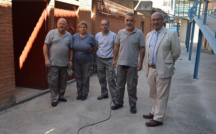 Castillo destaca que 288 personas ya se encuentran trabajando en 16 programas del Plan Especial de Empleo