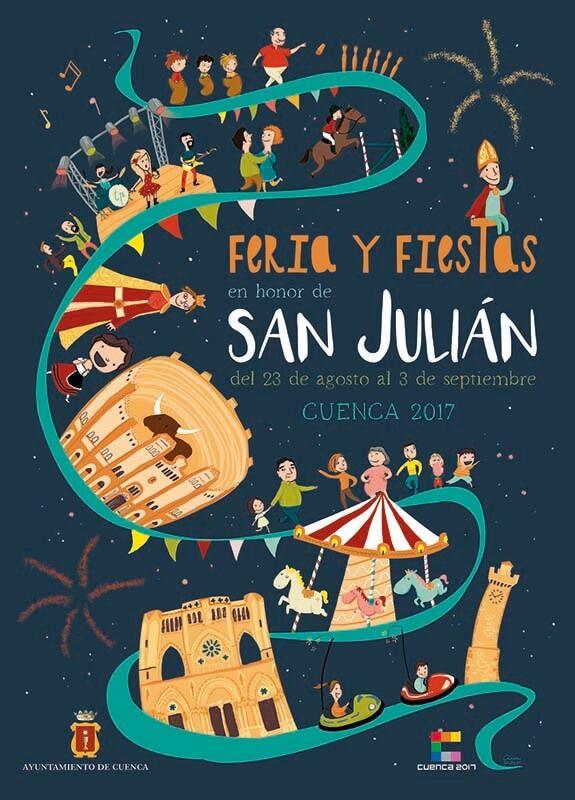 Más de 80.000 personas asisten a las actividades de la Feria de San Julián programadas por el Ayuntamiento de Cuenca
