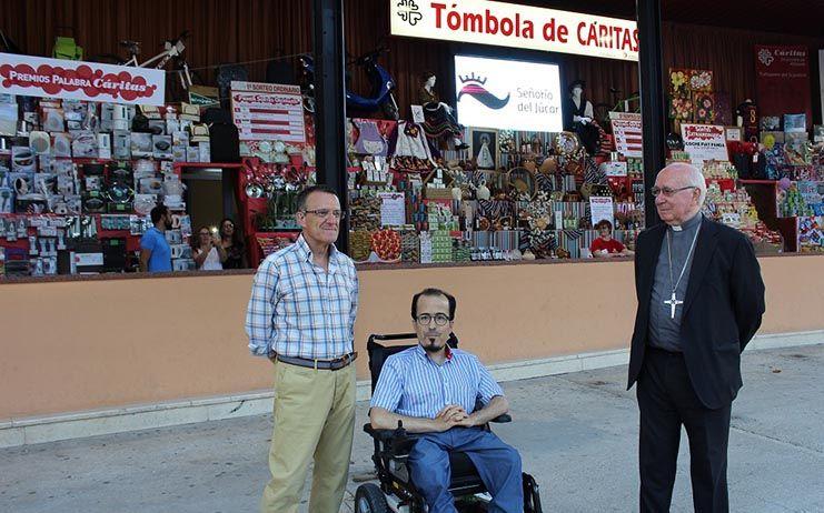 Federico Pozuelo destaca el trabajo, la humildad y el esfuerzo que Cáritas Diocesana realiza con la personas más desfavorecidas