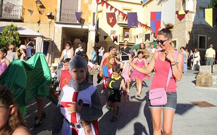 La Feria Medieval y Renacentista de Almonacid de Zorita celebró sus primeros diez años