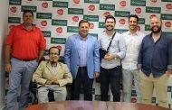Manuel Serrano suscribe un convenio con AJE por valor de 10.000 euros para promover la innovación empresarial y el empleo en Albacete
