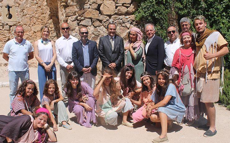 Gregorio traslada el apoyo firme del Gobierno de España al turismo durante la XXI Edición de Consuegra Medieval