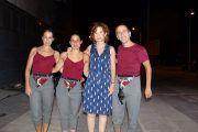 Mª Ángeles Martínez asiste al espectáculo que da inicio a las actividades del 62º Festival de Albacete 2017,