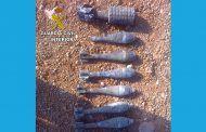 La Guardia Civil desactiva nueve granadas de mortero en el término municipal de Las Inviernas (Guadalajara)