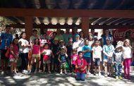 Ayto Toledo respalda el XIV Trofeo Infantil de Pesca en el que han participado una treintena de niños y niñas de 3 a 17 años