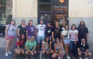El área de Juventud de Argamasilla de Alba organizó un viaje para participar en una 'escape room' en Madrid