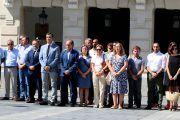 Cs C-LM muestra se suma al minuto de silencio en solidaridad con las víctimas de los atentados de Barcelona y Cambrils