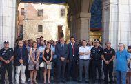 El Ayto de Cuenca recuerda en silencio a las víctimas de los atentados de Barcelona y Cambrils