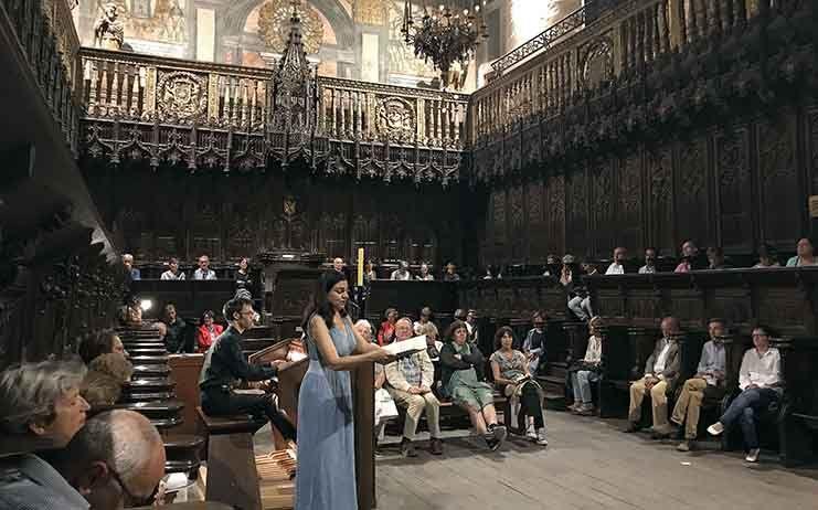 La IV Ruta de los órganos históricos de CLM hizo escala ayer en Sigüenza