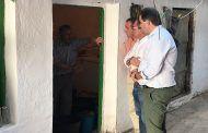 """Núñez visita la comarca y denuncia que el Gobierno de Page """"una vez más, ha engañado a los vecinos de la Sierra del Segura"""""""