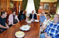 Ramos se reúne con la nueva junta directiva de la Asociación de Vecinos del barrio de El Carmen