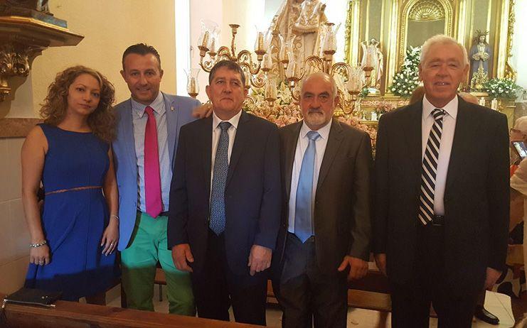 El portavoz popular Adrián Fernández participa de las fiestas patronales de Los Cortijos