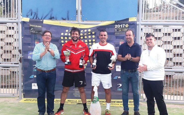 Once parejas disputaron en Arcas la igualada décima prueba del V Circuito de Pádel Diputación de Cuenca