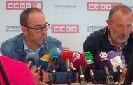 CCOO se plantea como reto la firma de 13 convenios colectivos en 2018 que afectan a 25.000 trabajadores en Ciudad Real