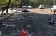La renovación del asfalto en la calle Constitución, a buen ritmo