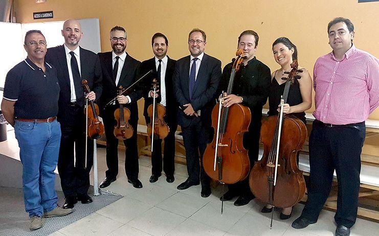 Gran respuesta de púbico en Tarancón al primer concierto del II Festival Internacional de Música Clásicos Colgados