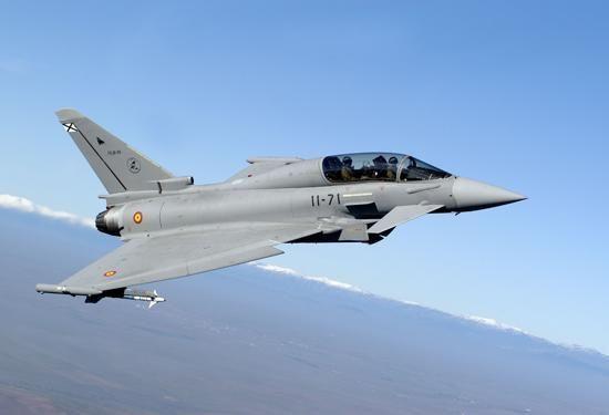 Muere el piloto del caza Eurofighter accidentado en Albacete