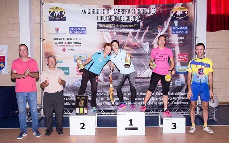 Casasimarro puso el broche final al XV Circuito de Carreras Populares Diputación de Cuenca