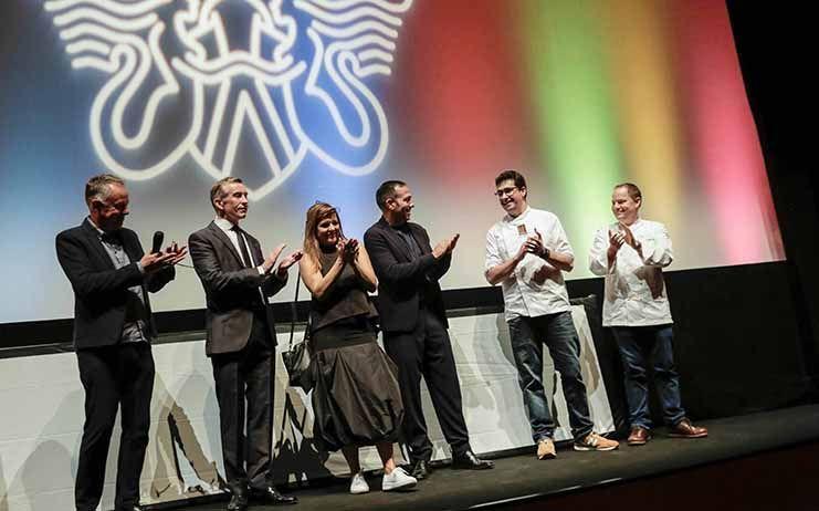 Jorge Maestro, chef afincado en Sigüenza también fue protagonista en el Festival de Cine de San Sebastián