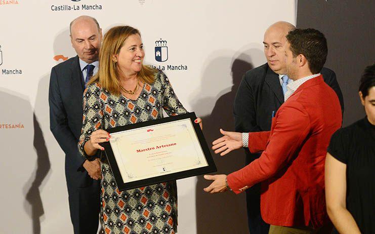El Consistorio, en la entrega de Medallas y Placas al Mérito Artesano de Castilla-La Mancha