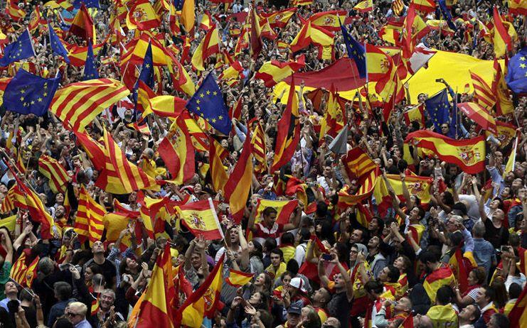 """El PP ve en las protestas en Cataluña la prueba de que """"la calle está harta"""" y el independentismo """"en vía muerta"""""""