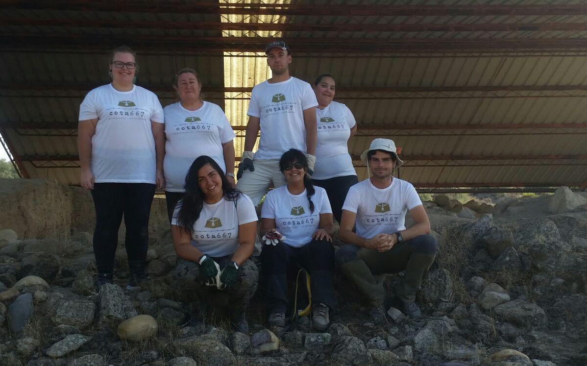 Un proyecto arqueológico de la UCLM indaga en los sistemas de fortificación de la cultura vettona
